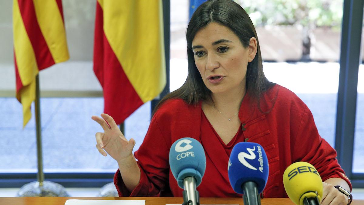 La consejera de Sanidad valenciana, Carmen Montón. (Foto: EFE)