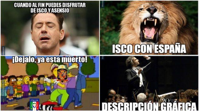 Los mejores memes del España vs Italia.