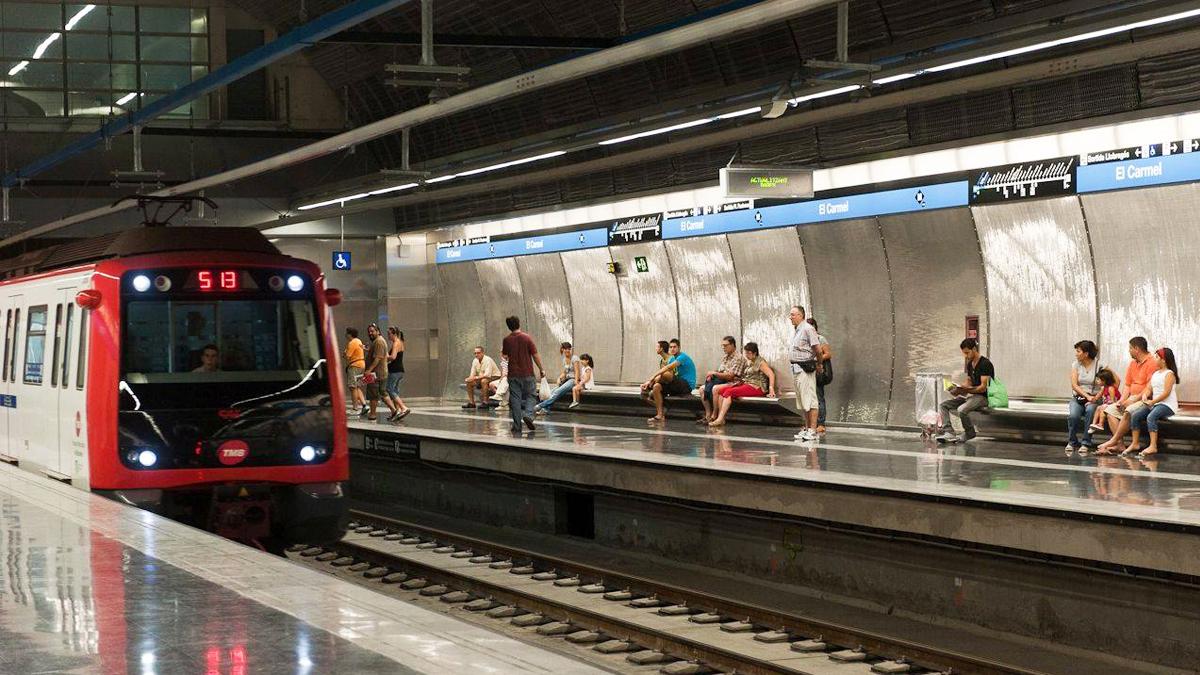 Metro de Barcelona. (Foto: TMB)