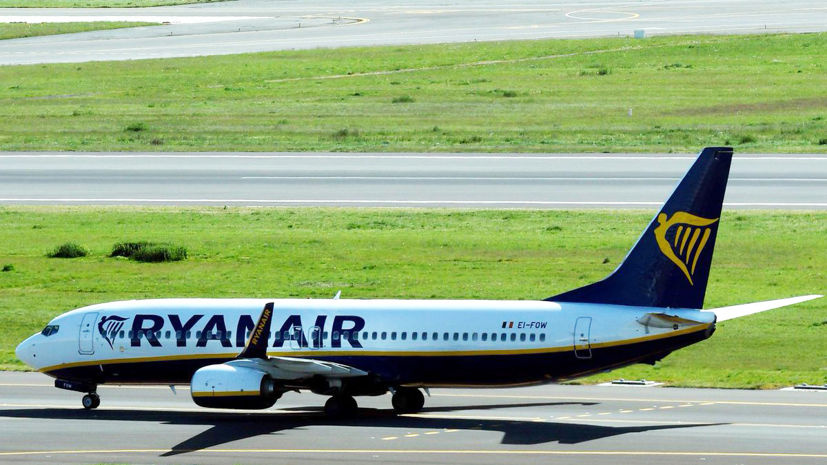 Ryanair (Foto: Twitter)