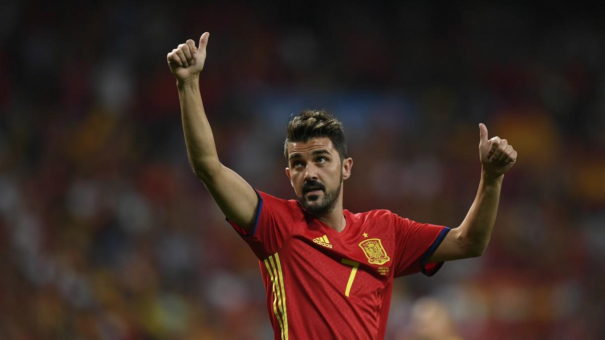 Villa agradece el apoyo a los aficionados. (AFP)
