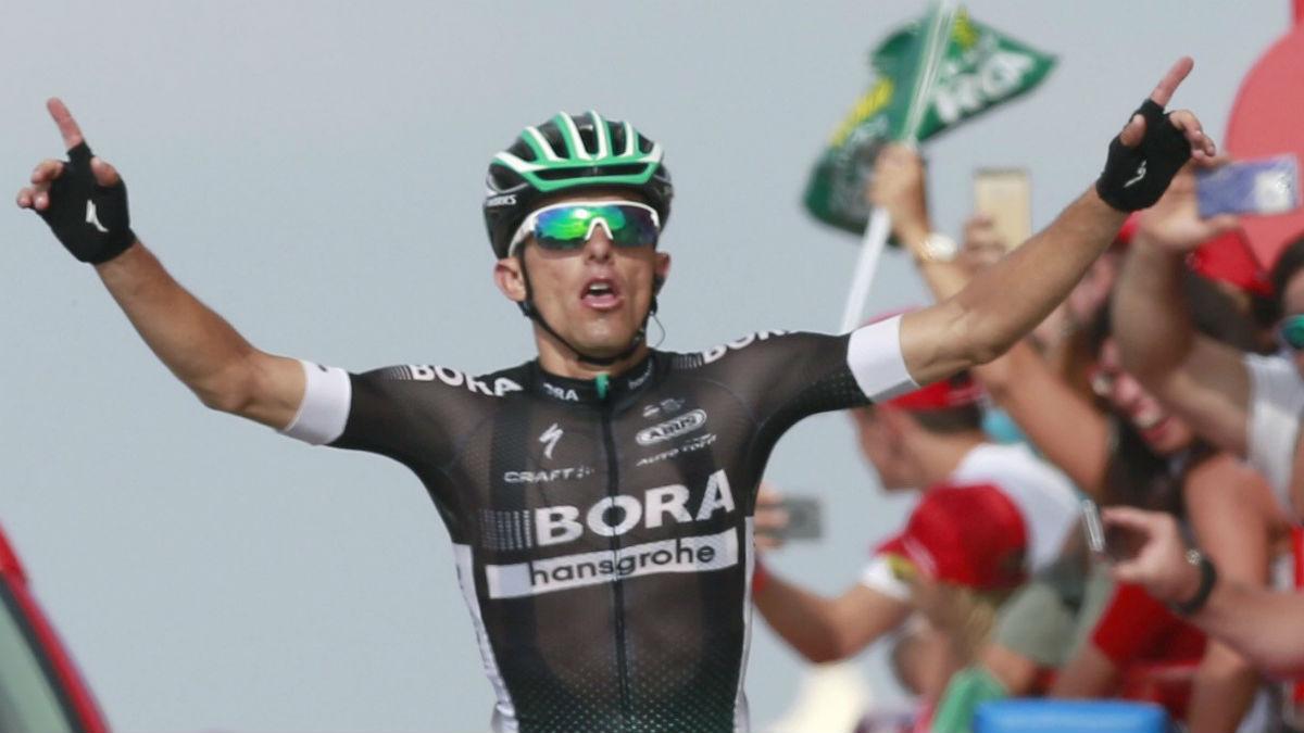El polaco Rafal Majka ganó la 14ª etapa. (EFE)