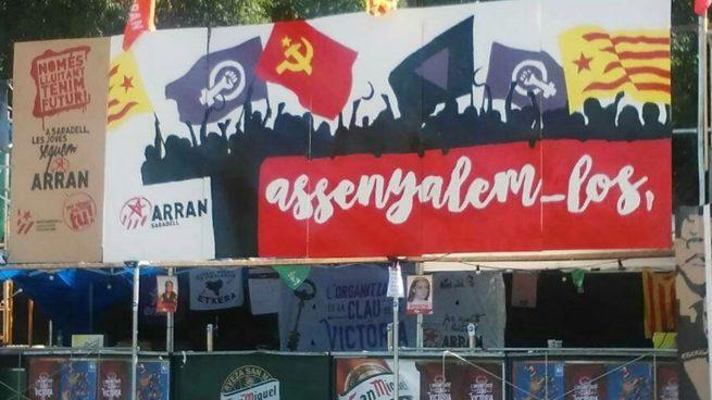 Arran prosigue su campaña de intimidación: ahora pide «señalar» a quienes no apoyen la independencia