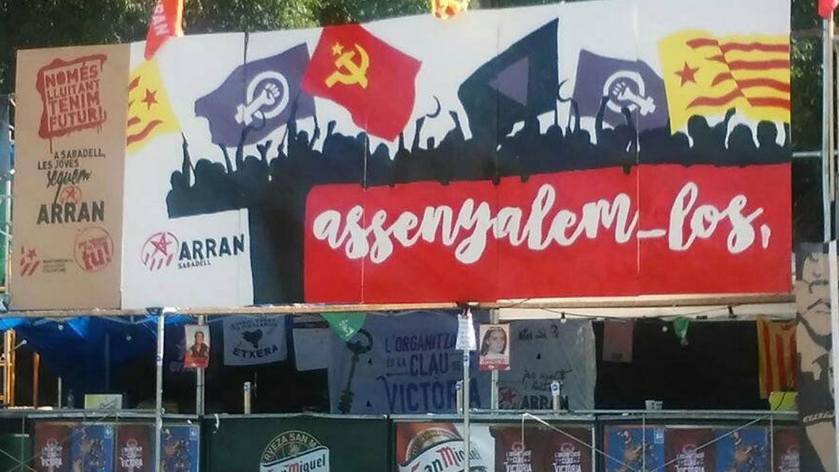 Cartel de Arran, organización juvenil de la CUP.