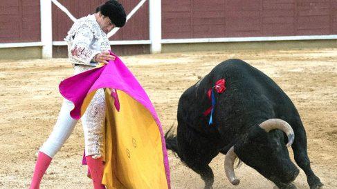 Miguel Ángel Perera en una reciente faena (Foto: Efe).