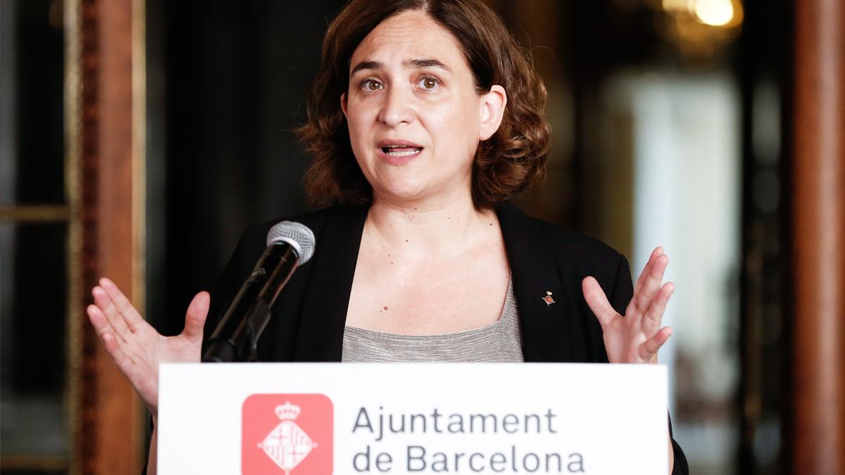 Ada Colau. (Foto: AFP)