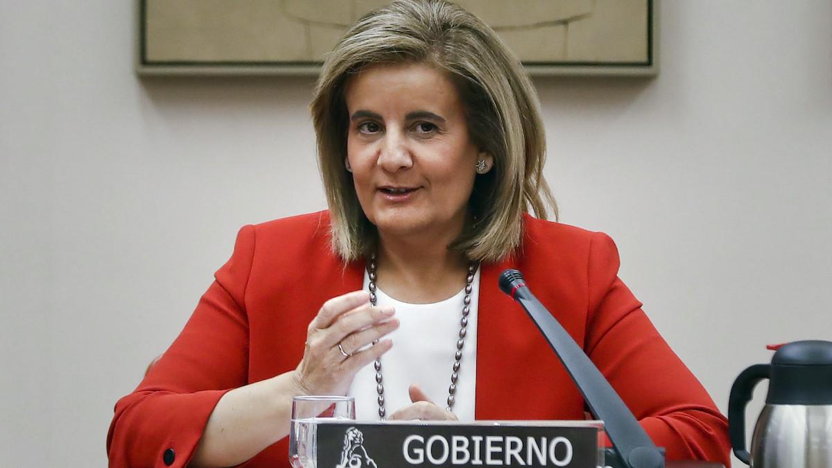 La ministra de Empleo, Fátima Báñez. (Foto: EFE)