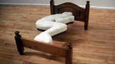 Este colchón individual no transmite la comodidad que su uso requiere.
