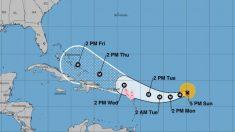 Previsión para el huracán 'Irma'