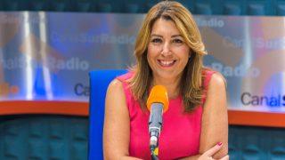 Susana Díaz. (Foto: Canal Sur Radio)