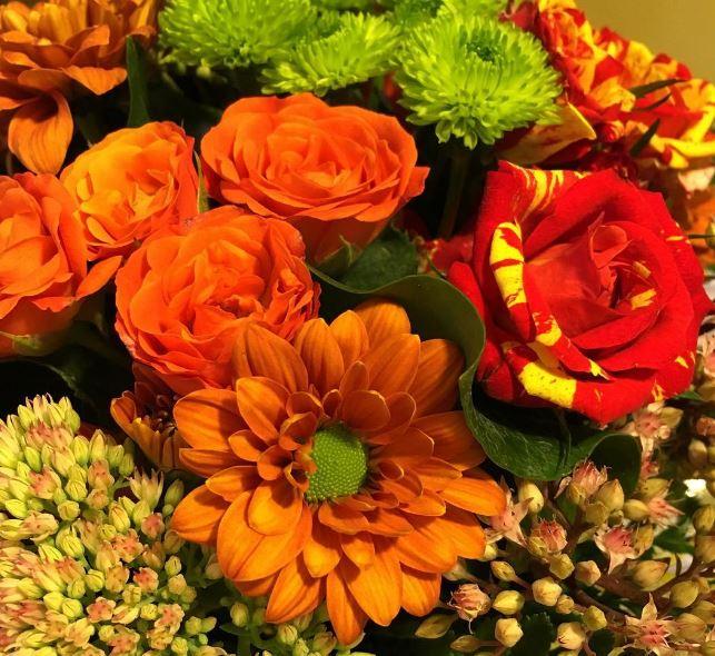 arreglos florales de las Fiestas del Pilar 2017
