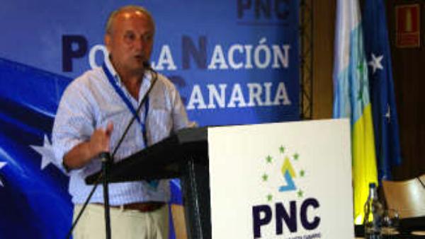 Juan Manuel García Ramos, presidente del PNC.