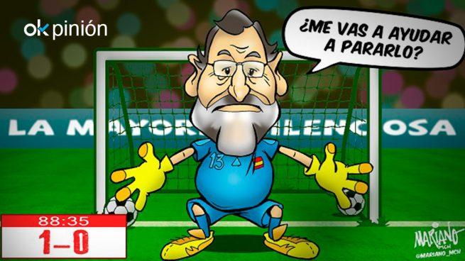 Rajoy se la juega el 1-O