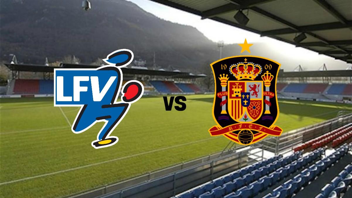 Liechtenstein vs España.