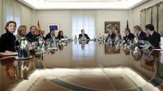 Consejo de Ministros en el Palacio de la Moncloa. (Foto: EFE)