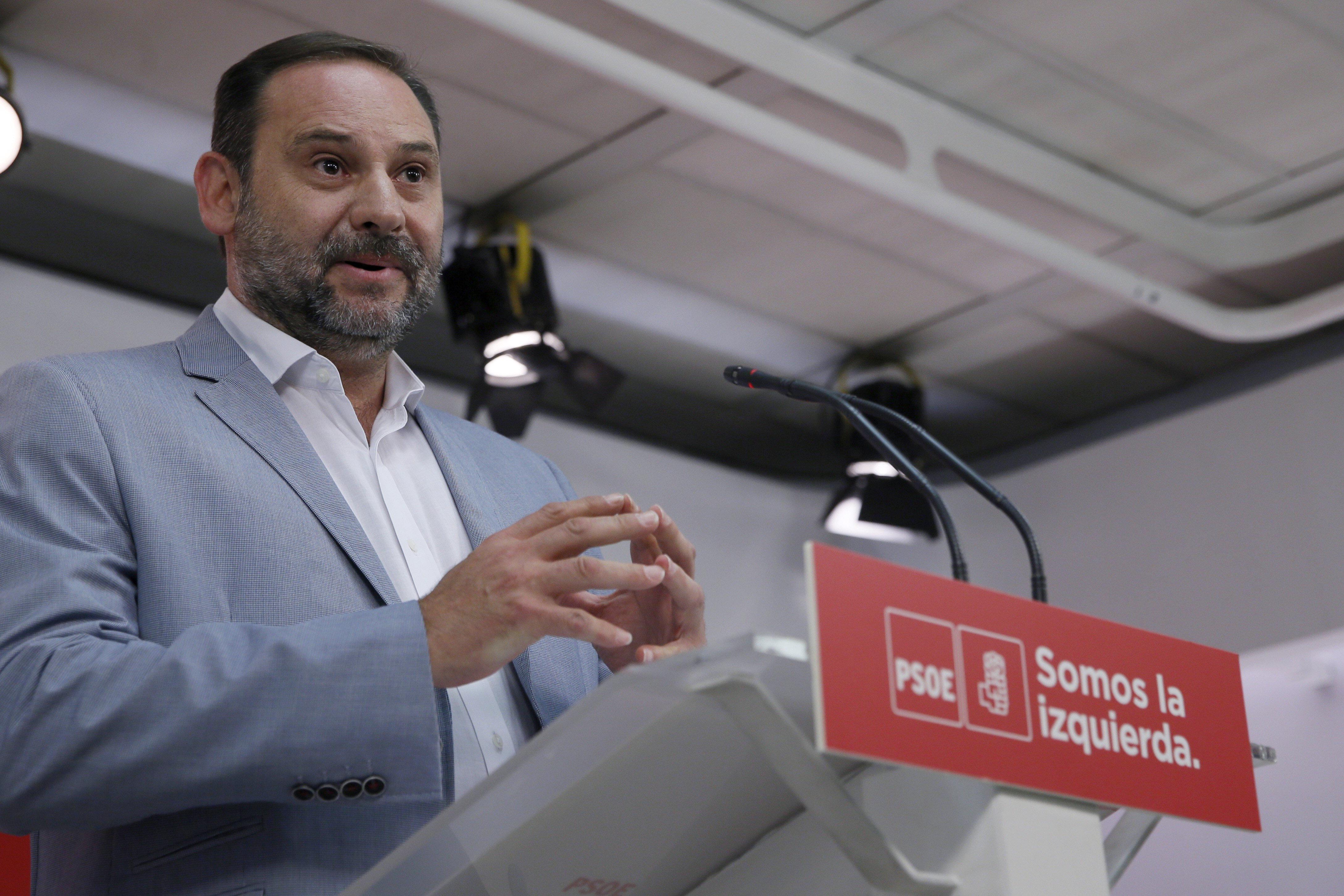 José Luis Ábalos, secretario de Organización del PSOE. (EFE)