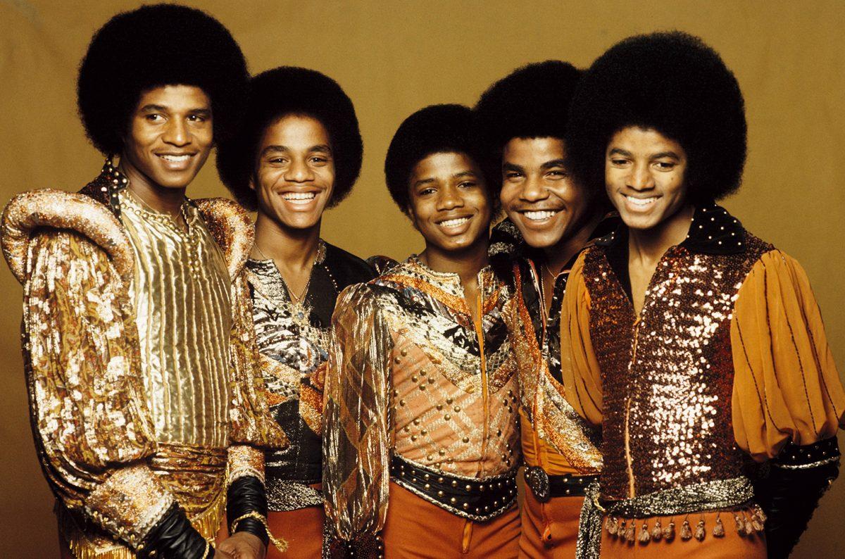 Michael Jackson cantó de joven con sus hermanos en el grupo Jackson Five.