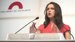 La líder de Ciutadans en Cataluña, Inés Arrimadas (Foto: Efe)
