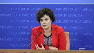 Esperanza Gómez, portavoz adjunta de Podemos en el Parlamento andaluz.