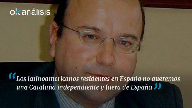 Latinoamericanos en España: SÍ a una España unida