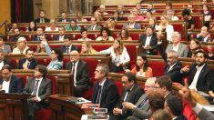 El Pleno del Parlament de Cataluña (Foto: Efe)