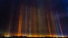 Las auroras boreales no tienen nada que ver con este insólito fenómeno.