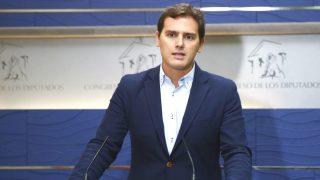 El líder de Ciudadanos (Cs), Albert Rivera (Foto: Efe)