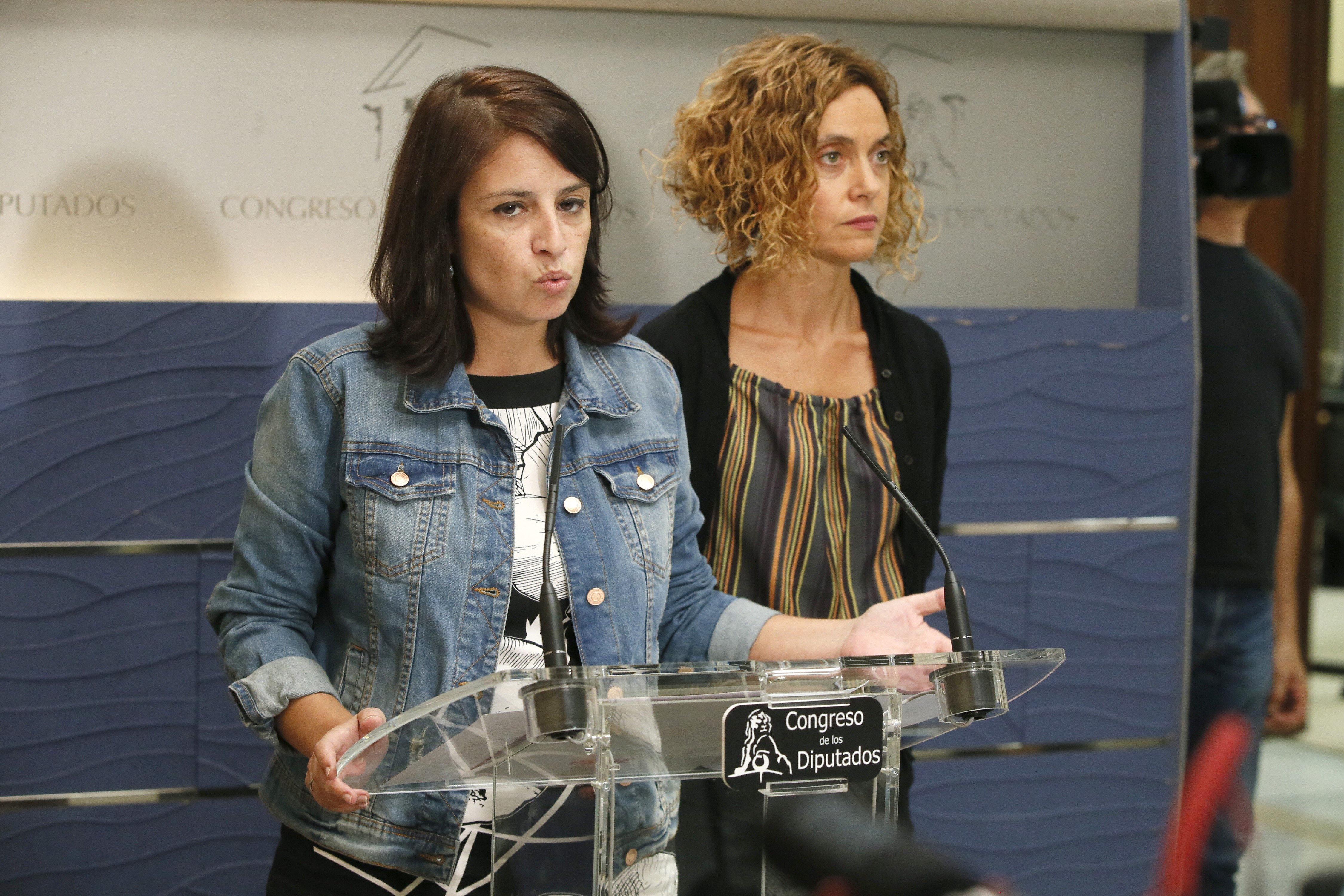 El PSOE registra hoy en el Congreso su propuesta de comisión sobre Cataluña.