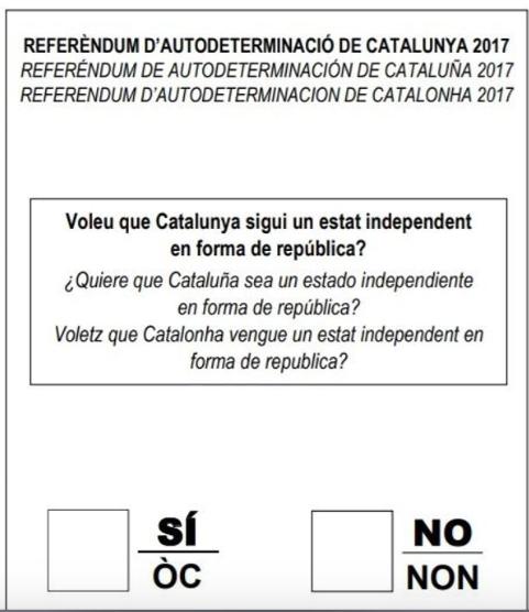 El TC suspende el referéndum y y los golpistas aprueban la ley de la República Catalana