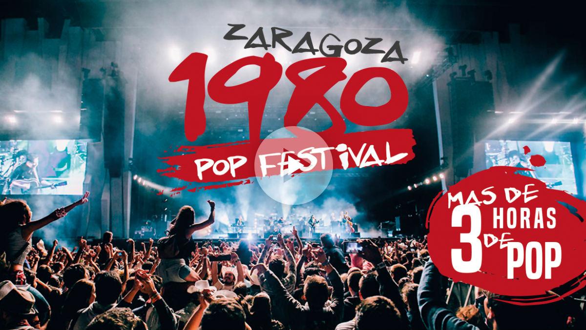 Zaragoza 1980 Pop Festival en las Fiestas del Pilar 2017