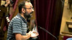 Benet Salellas en el Parlament catalán (Foto: Efe).