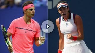 Rafa Nadal y Garbiñe Muguruza son los nuevos reyes del tenis mundial.