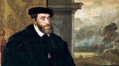 Carlos I abdicó por sorpresa a los 55 años.