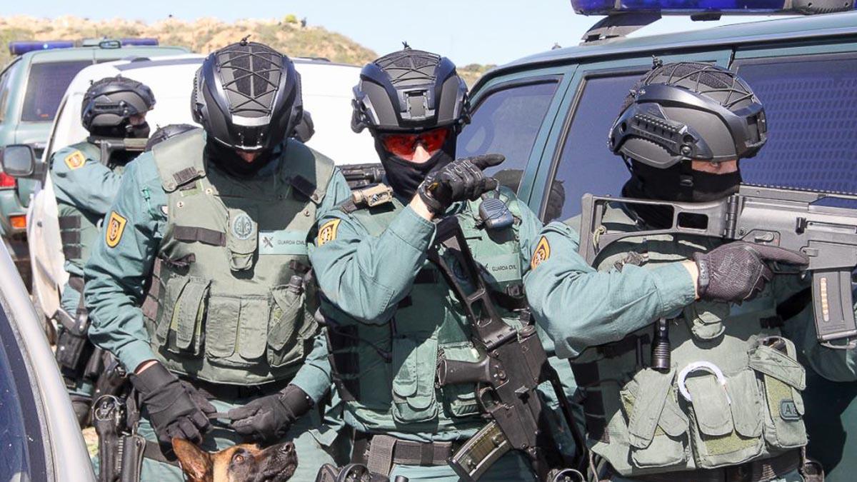 Agentes del GAR. (Foto: Tactical Online)