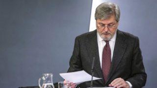 Iñigo Méndez de Vigo, portavoz del Gobierno.