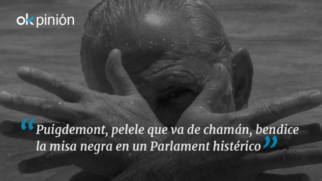 La misa negra del Parlament
