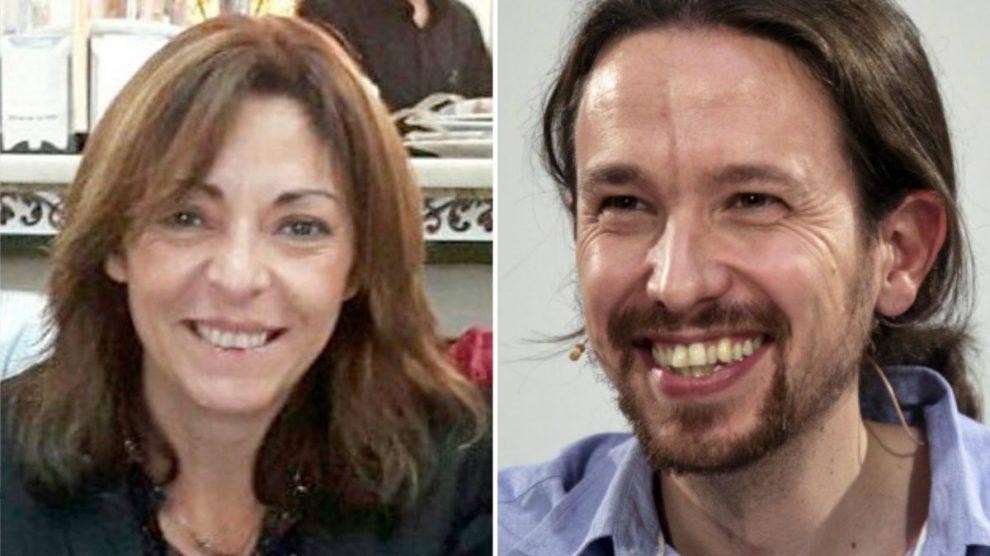 Olga Jimenez, ex presidenta de la Comisiónd e Garantías de Podemos, expedientada por la dirección de Pablo Iglesias, secretario general.