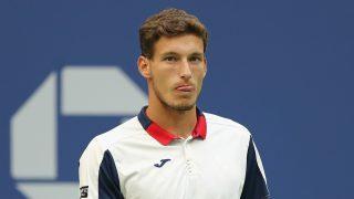 Pablo Carreño, en un lance de su partido frente a Anderson. (AFP)