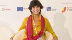 María Benjumea en la presentación de South Summit.