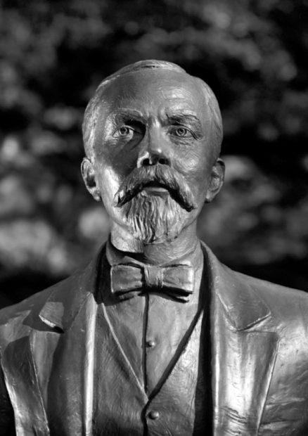 Busto de Mr. Jack, cuyo nombre real era Jasper Newton Daniel, fue el fundador de JAck Daniel's.
