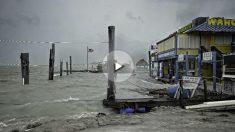 Efectos del huracán 'Irma' a su llegada a Florida (Foto: AFP).