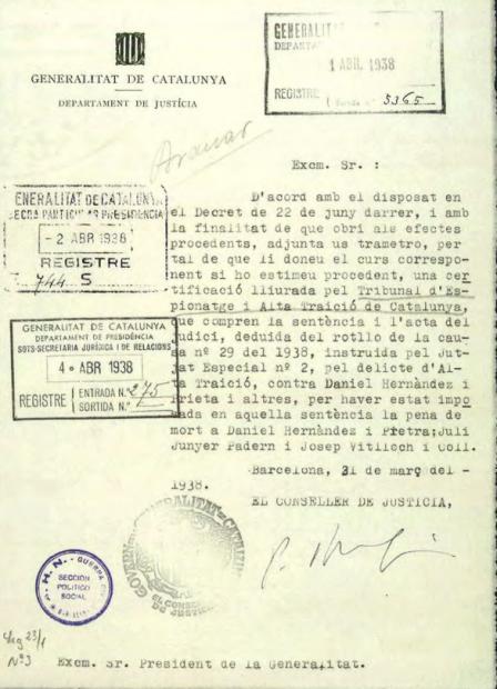 La República ya suspendió la autonomía de Cataluña siendo presidente Alcalá-Zamora