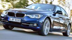 BMW 320D, modelo similar al de Pablo González.