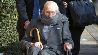 El británico Douglas Hammersley es el pederasta condenado más viejo del mundo, 102 años.