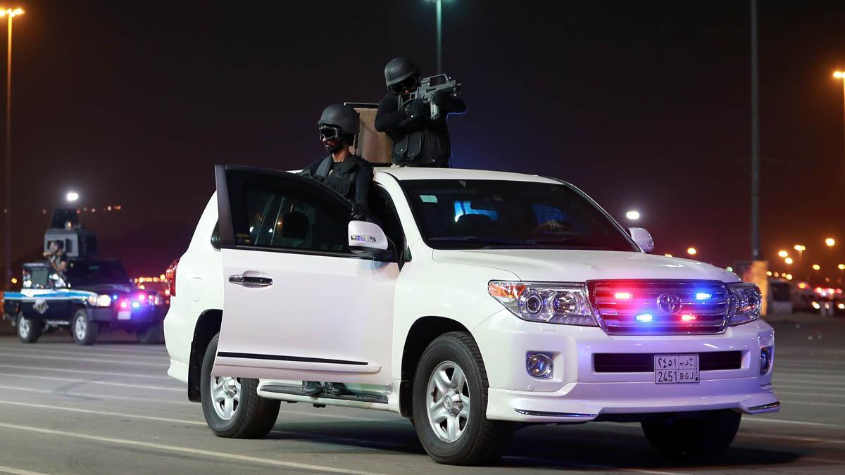 Fuerzas armadas de Arabia Saudí (Foto: AFP)