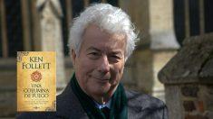 El novelista británico Ken Follett.