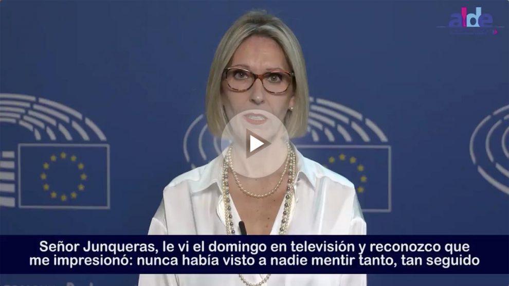 La eurodiputada Beatriz Becerra