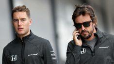 Stoffel Vandoorne y Fernando Alonso pelearán por colocar a McLaren justo por detrás de los tres grandes en el Gran Premio de Singapur. (Getty)