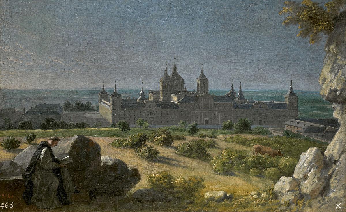 El Monasterio de San Lorenzo del Escorial fue construido entre los años 1563 y 1584.