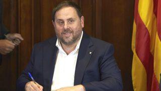 El vicepresidente de la Generalitat, Oriol Junqueras (Foto: Efe)